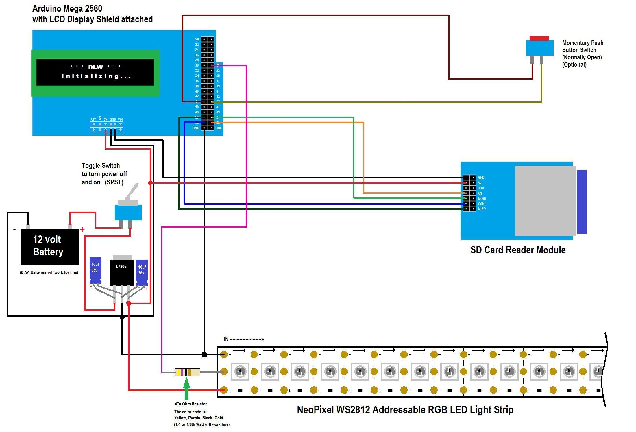 Digital Light Wand Neopixel Ws2812 Details Digital Light Arduino Led Rgb Led Lights