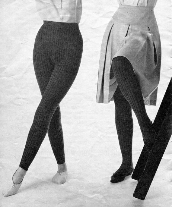 Women And Girls 1960s Vintage Knitted Tights Hose Pdf
