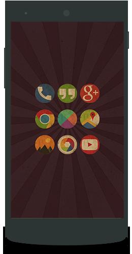 Apklio Apk For Android Vintage Icon Pack V4 0 1 Apk Vintage Icons Icon Pack Vintage