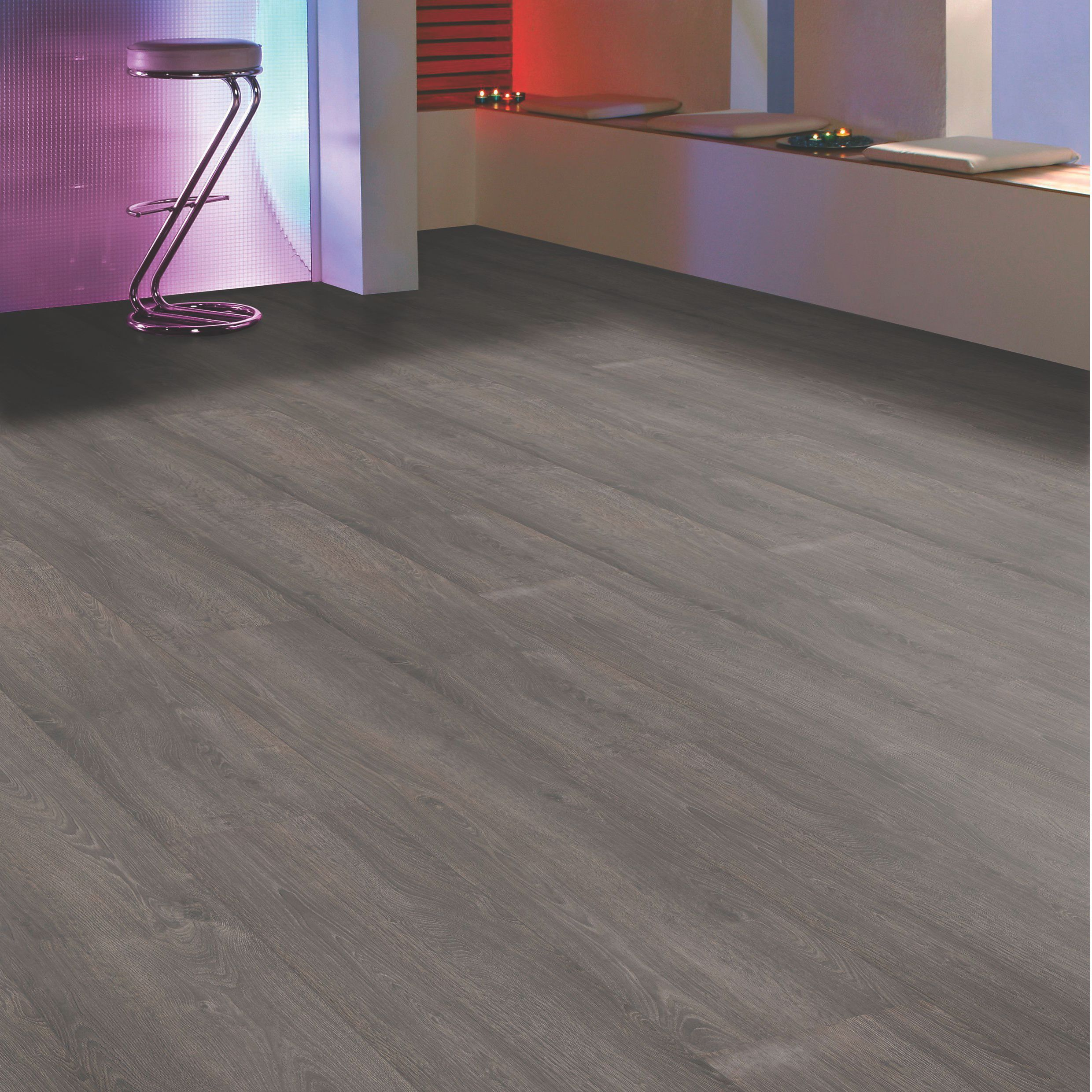 Princeps Santander Oak Effect Wide Plank Laminate Flooring 1 45 M² Pack Departments Diy At B Q