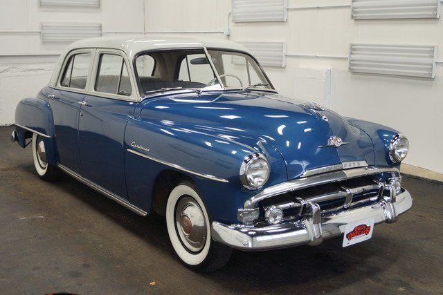 1952 Plymouth Cambridge Sedan