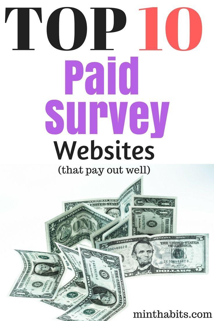 10 Best Online Surveys For Money Websites Today | Money