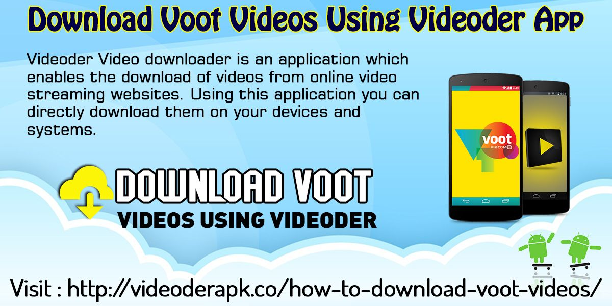 Download Voot Videos Using Videoder App Website http