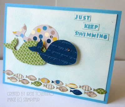 Relax. Make a Card: Just Keep Swimming
