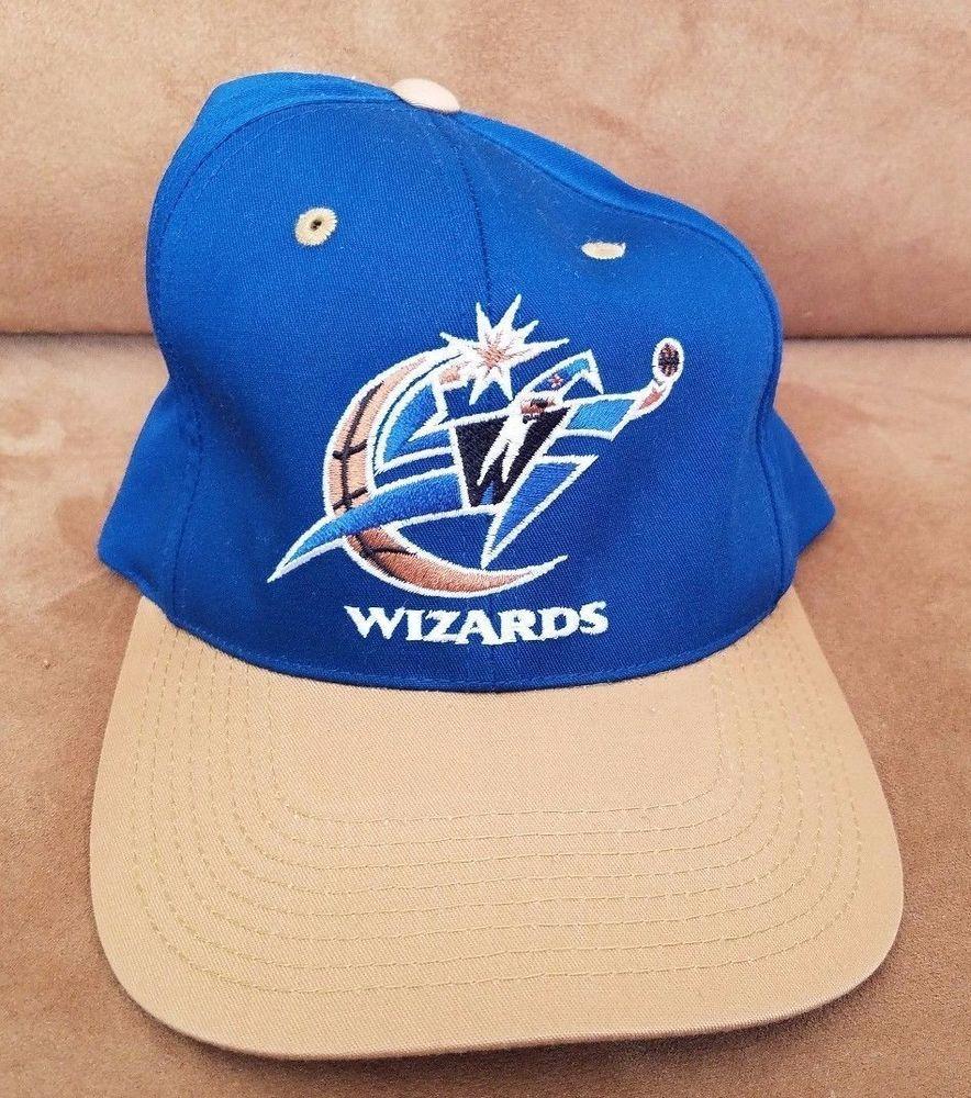 b2988dbf52 Vintage WASHINGTON WIZARDS Cap Basketball snapback hat GCC NBA  GCC   WashingtonWizards
