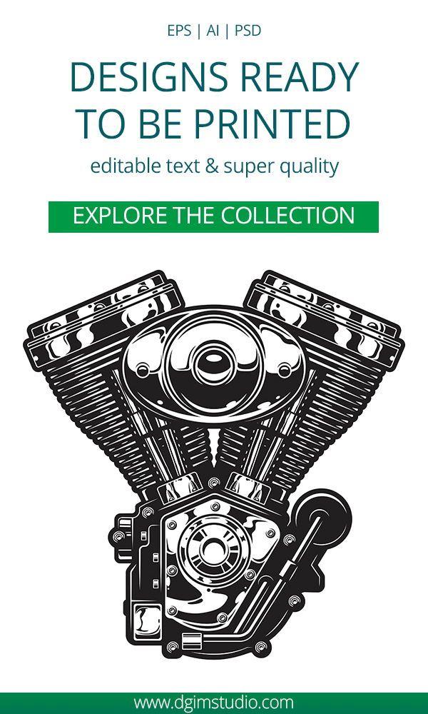 Motorcycle bundle Logo templates, Cool logo, Motorcycle logo