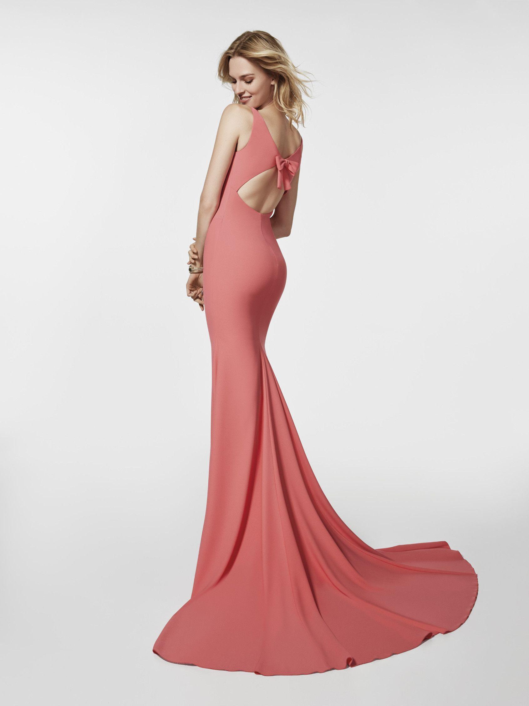 Imagen del vestido de fiesta rojo (62023). Vestido GRENOBLE largo ...