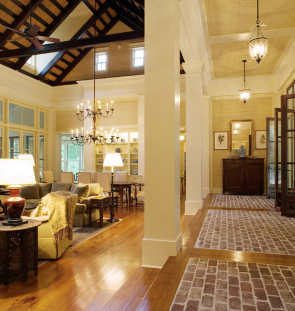 Southern Charm Living Room: In Good Taste: Historical Concepts