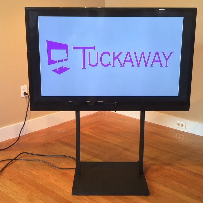 Tuckaway A Tv Stand That Hides Your Components Nerdoholic All