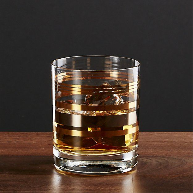 Gala Double Old Fashioned Crate And Barrel Crate And Barrel Glassware Old Fashioned