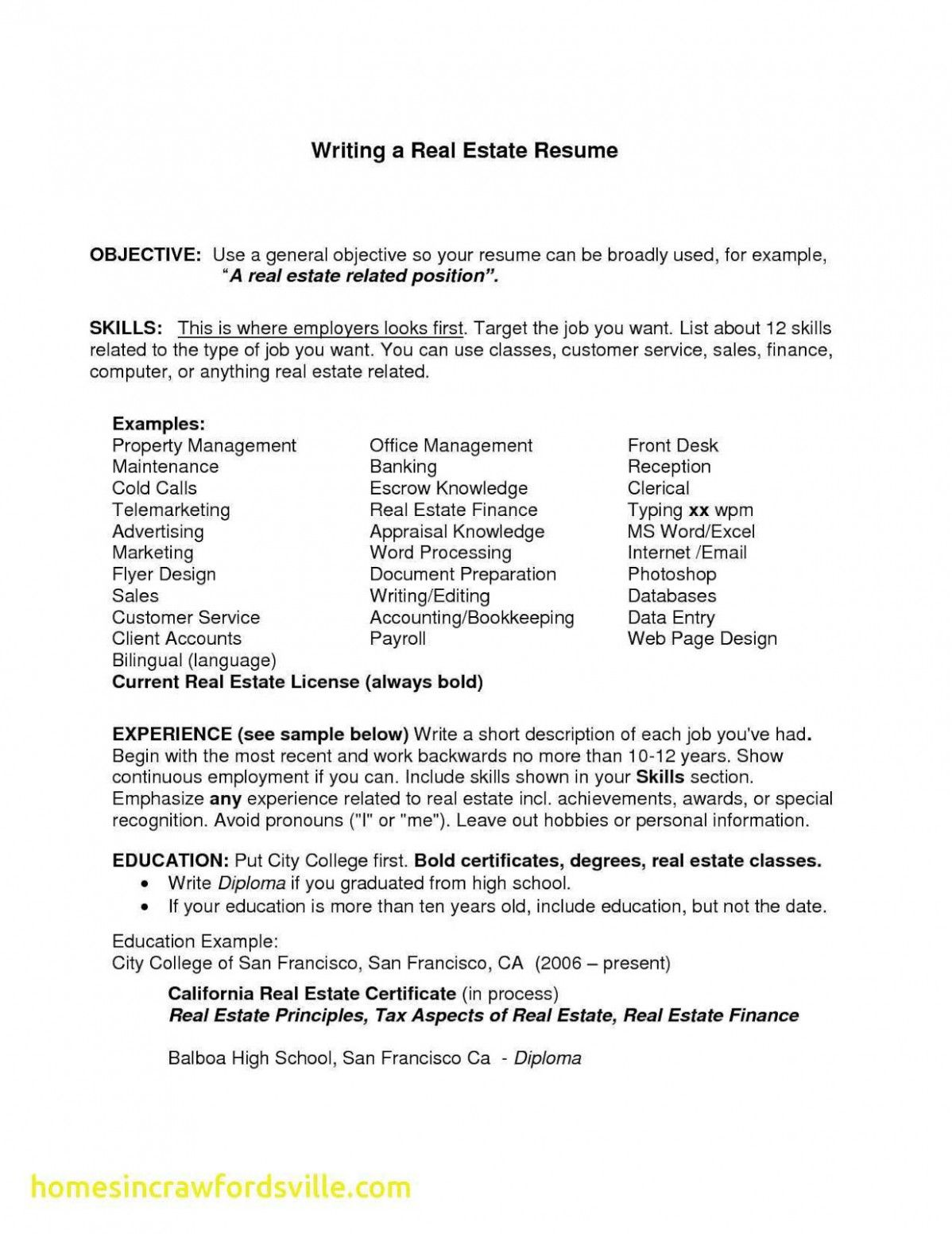 General Objective Examples In 2021 Modern Resume Template Resume Template 10 Years