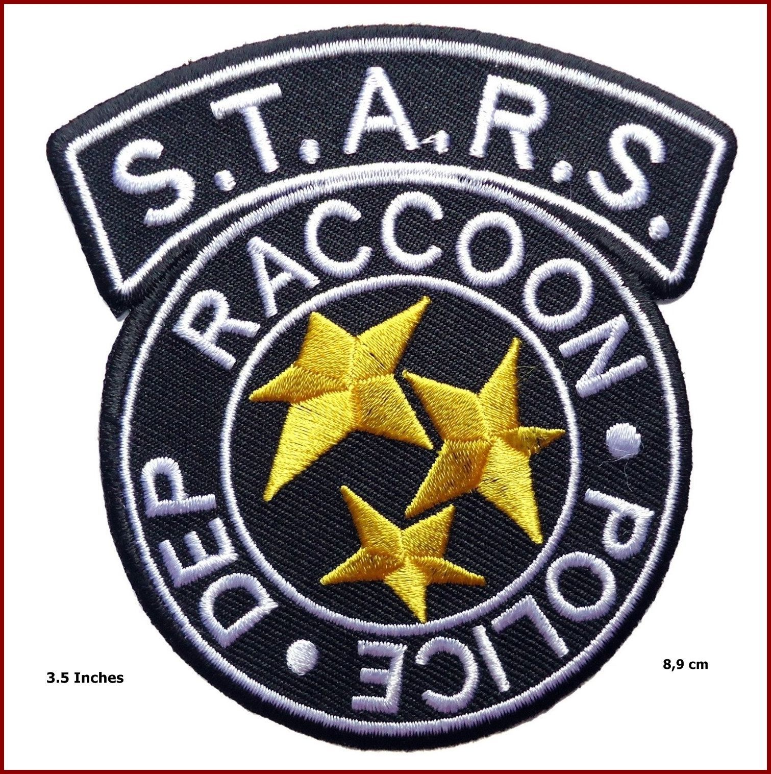 3 5 Resident Evil S T A R S Raccoon Police Black Costume Logo Patch Iron On Resident Evil Tattoo Resident Evil Resident Evil Raccoon City