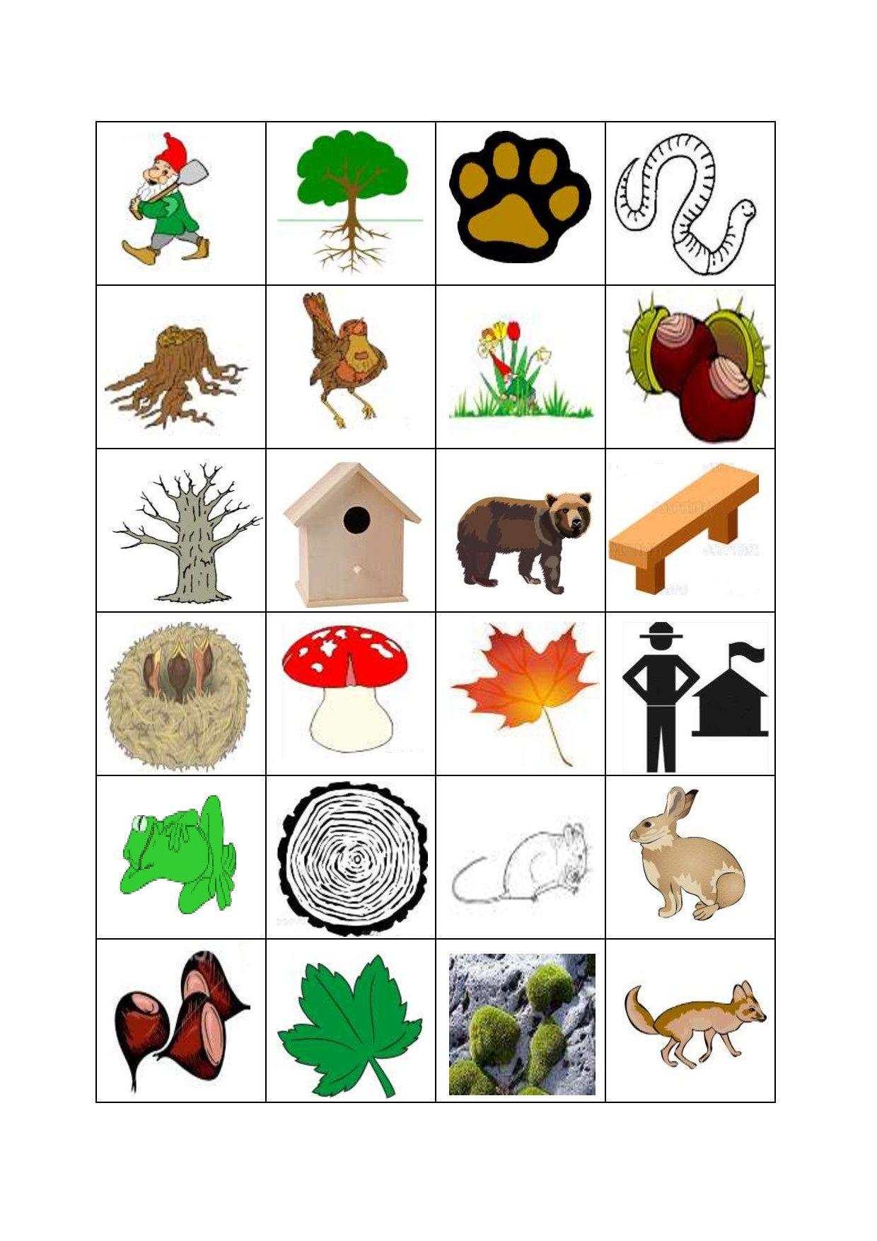 Ausmalbilder Herbst Waldspaziergang : Herfst Bingo De Losse Bingokaartjes 3 3 Zou Alle Kaarten Voor