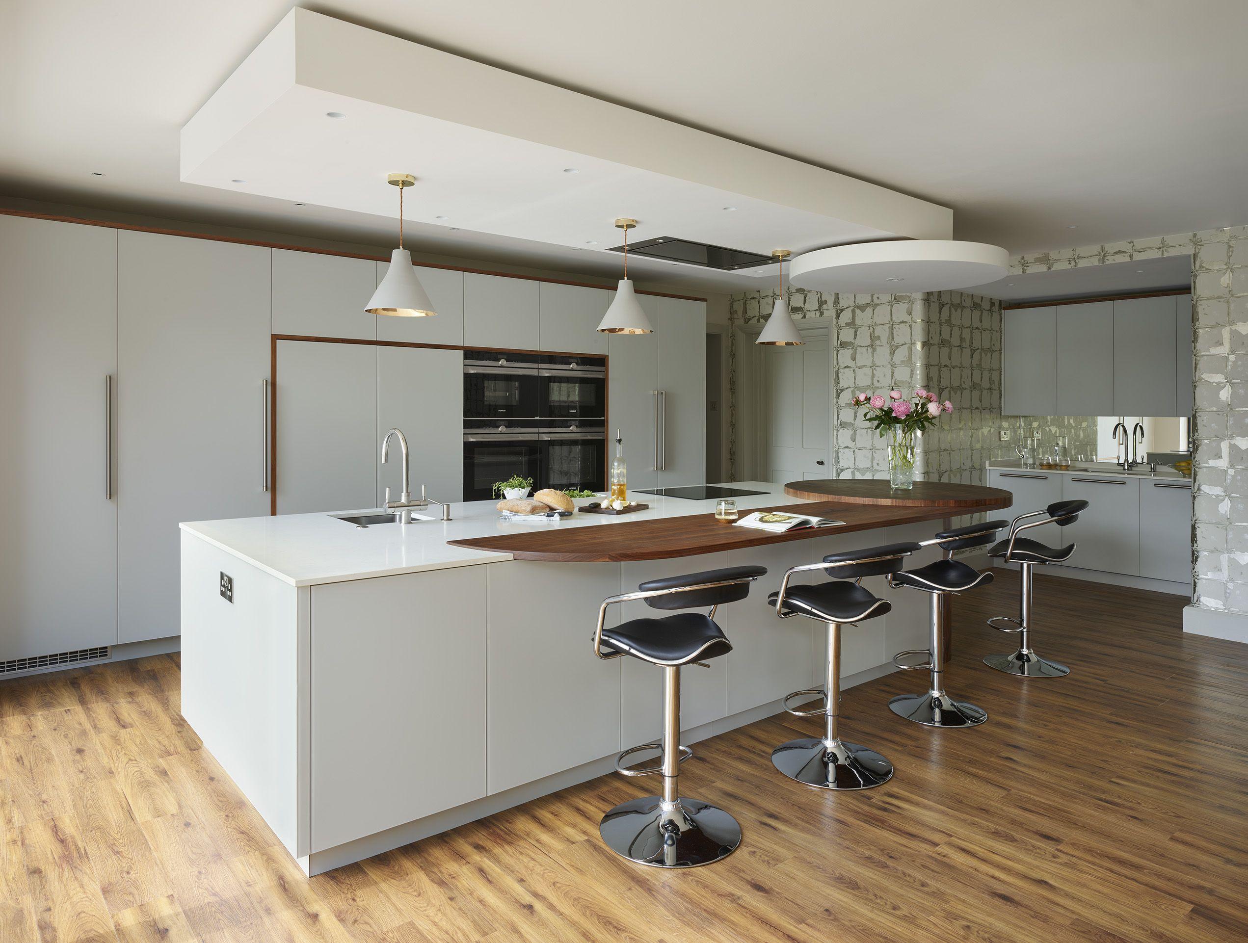 Soulbury Contemporary Kitchen  Simon Taylor Furniture  Kitchen Beauteous Contemporary Kitchen Chairs Inspiration Design