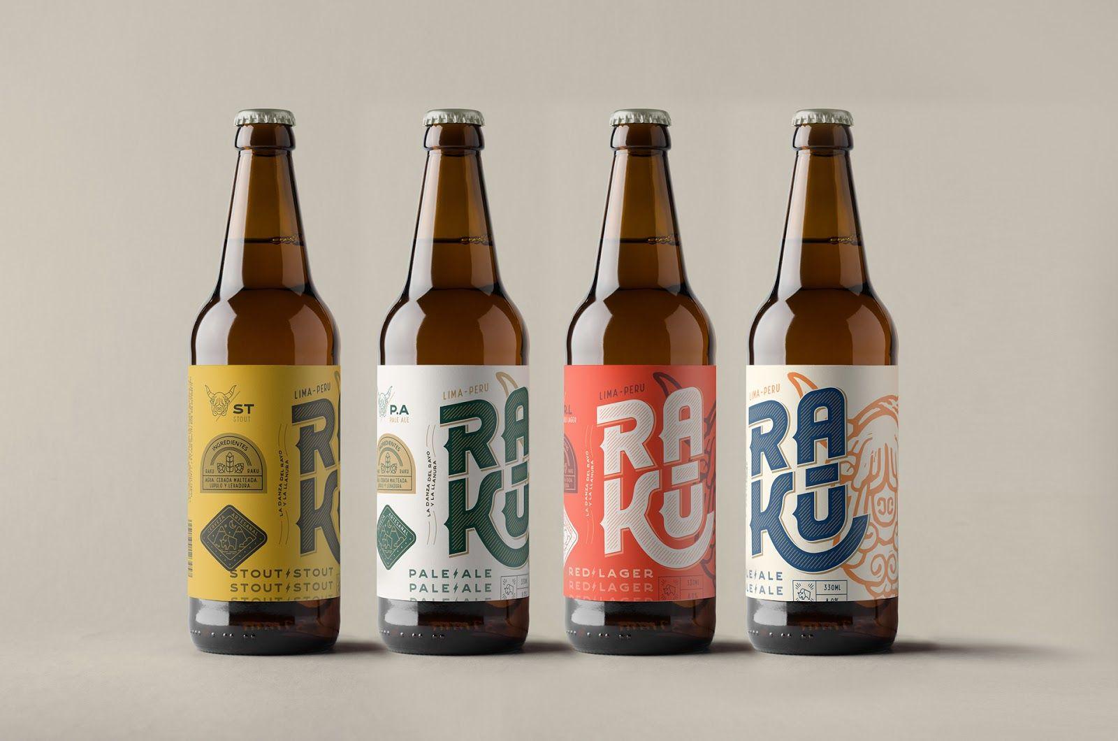 Raku  Craft Beer on Packaging of the World  Creative Package Design Gallery