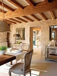 Casas Rusticas Por Dentro Buscar Con Google Rustic House French Country House House Interior