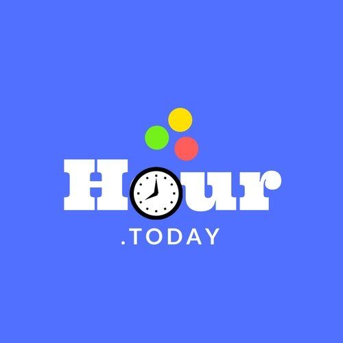 Hour.today PREMIUM DOMAIN NAME Clock Hour Website Many