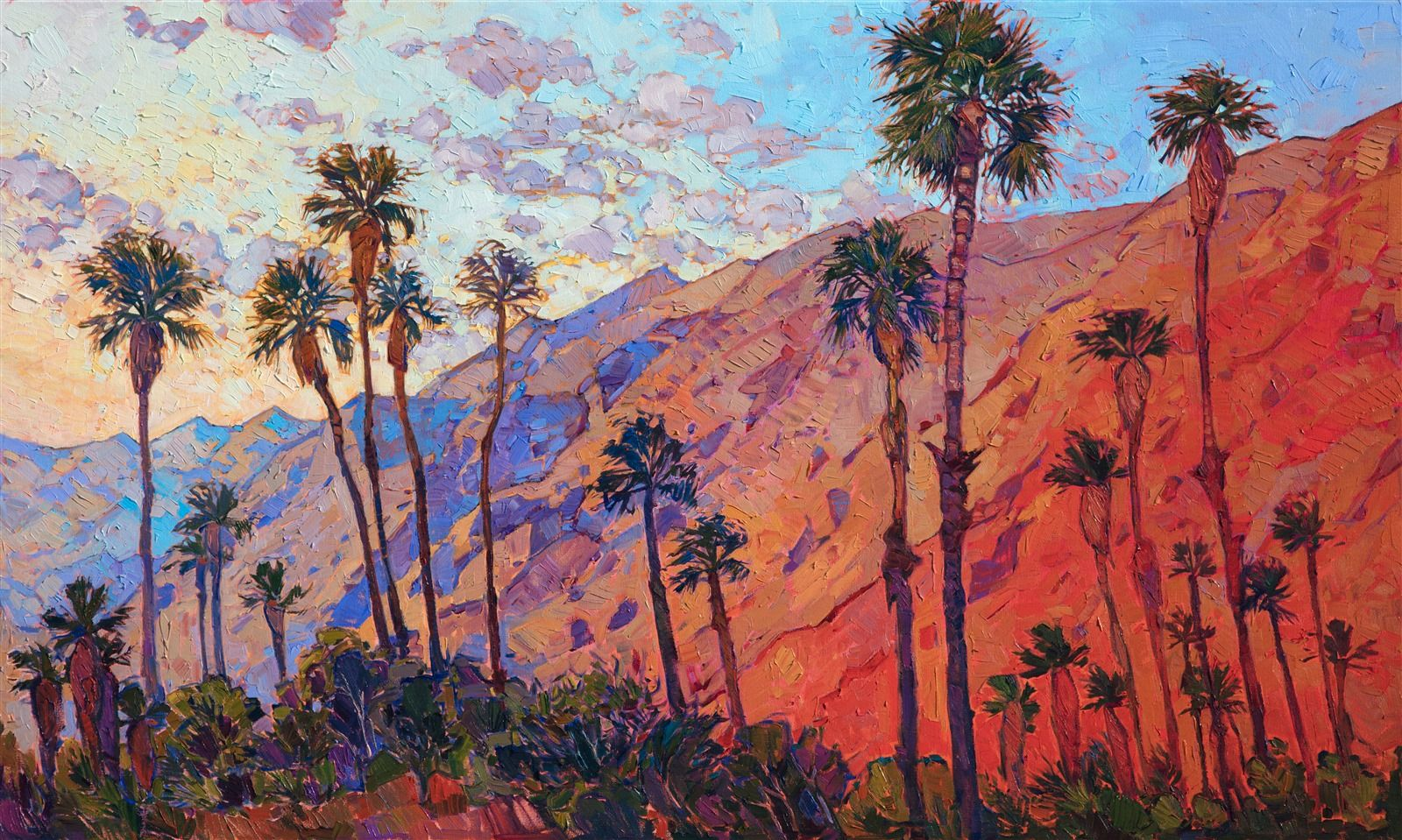 Santa Rosa By Erin Hanson With Images Fine Art Landscape Fine Art Prints Artists Art Festival Poster
