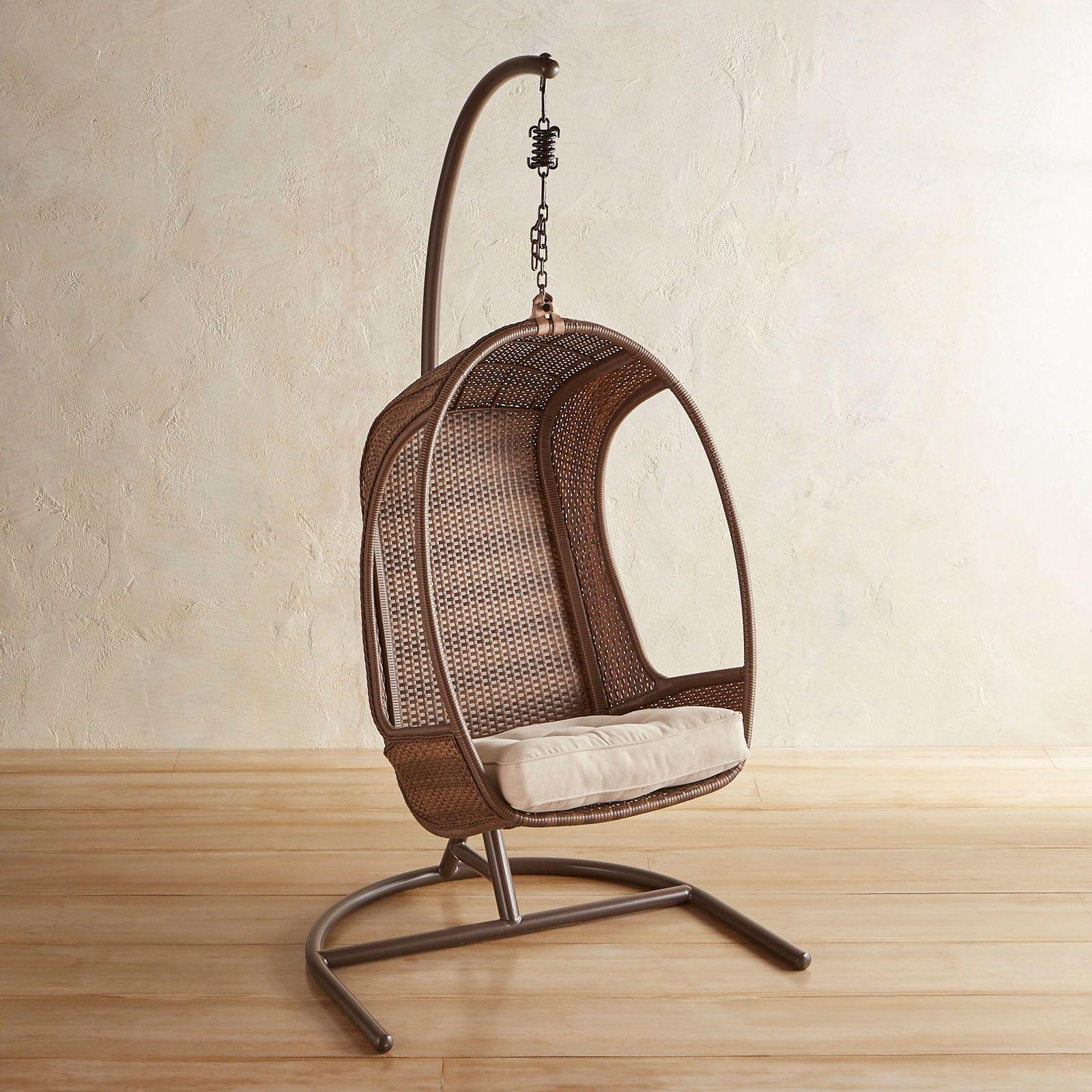 Swingasan® Sadie Latte Hanging Chair | Pier 1 Imports ...