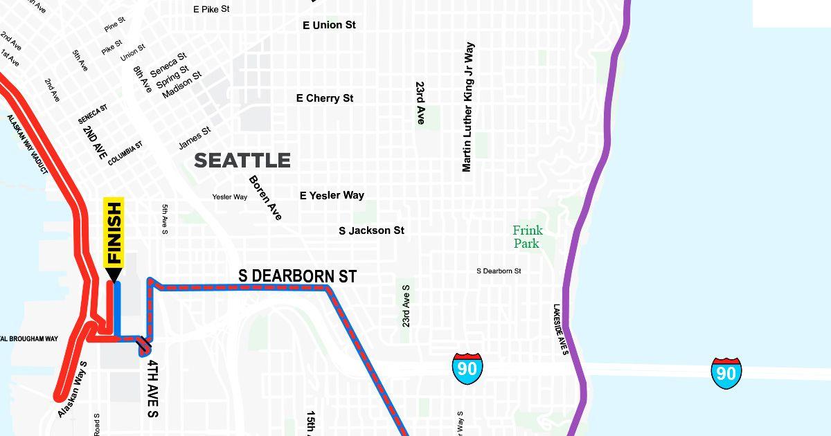 Course Map & Race Route Info