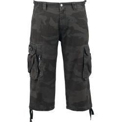 Black Premium by Emp 3/4 Army Herren-Short - darkcamo Black Premium by Emp