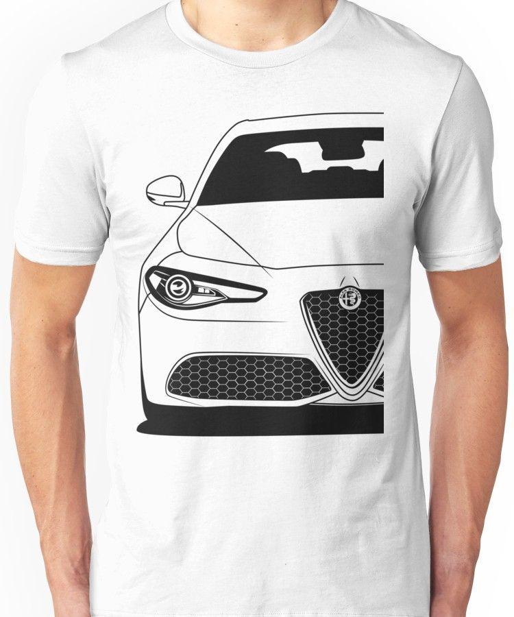 e675f3cb8c3 Alfa Romeo Giulia Best Shirt Design Unisex T-Shirt