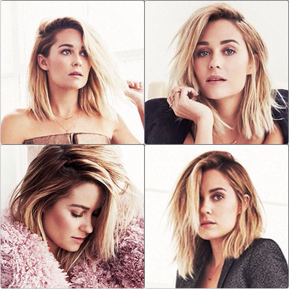 Lauren Conrad New Haircut Pretty Hair Dont Care Pinterest