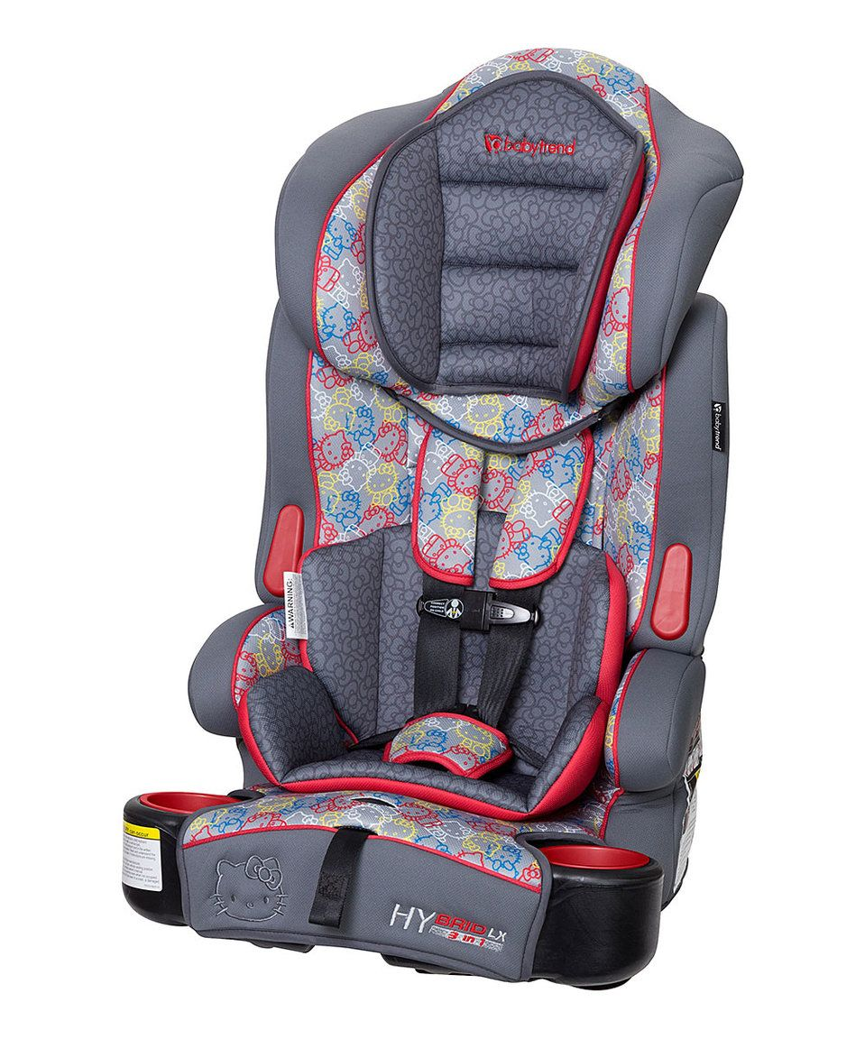 Take a look at this Baby Trend Hello Kitty Car Seat today