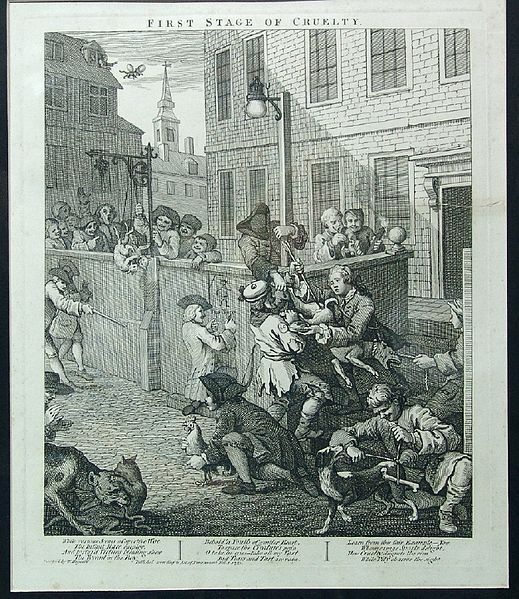 William Hogarth First Stage Of Cruelty St Giles With Images