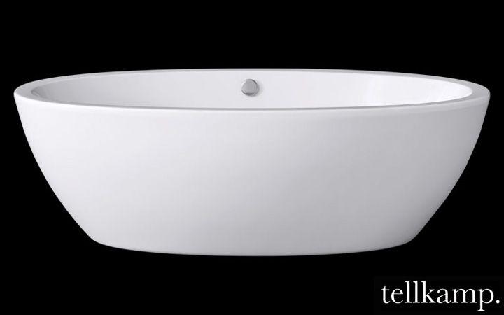 Badezimmer Reuter ~ Tellkamp space freistehende oval badewanne l: 190 b: 94 h: 60 cm