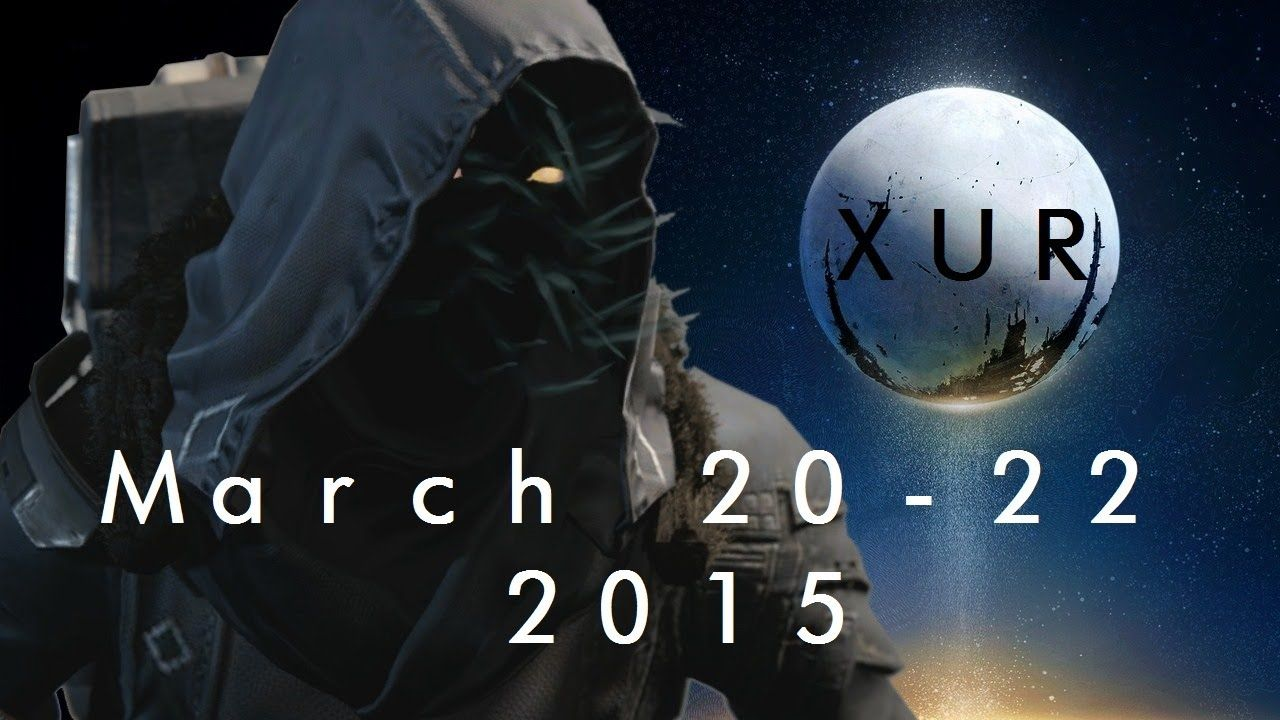 Destiny | Xur Official Inventory March 20 - 22 2015