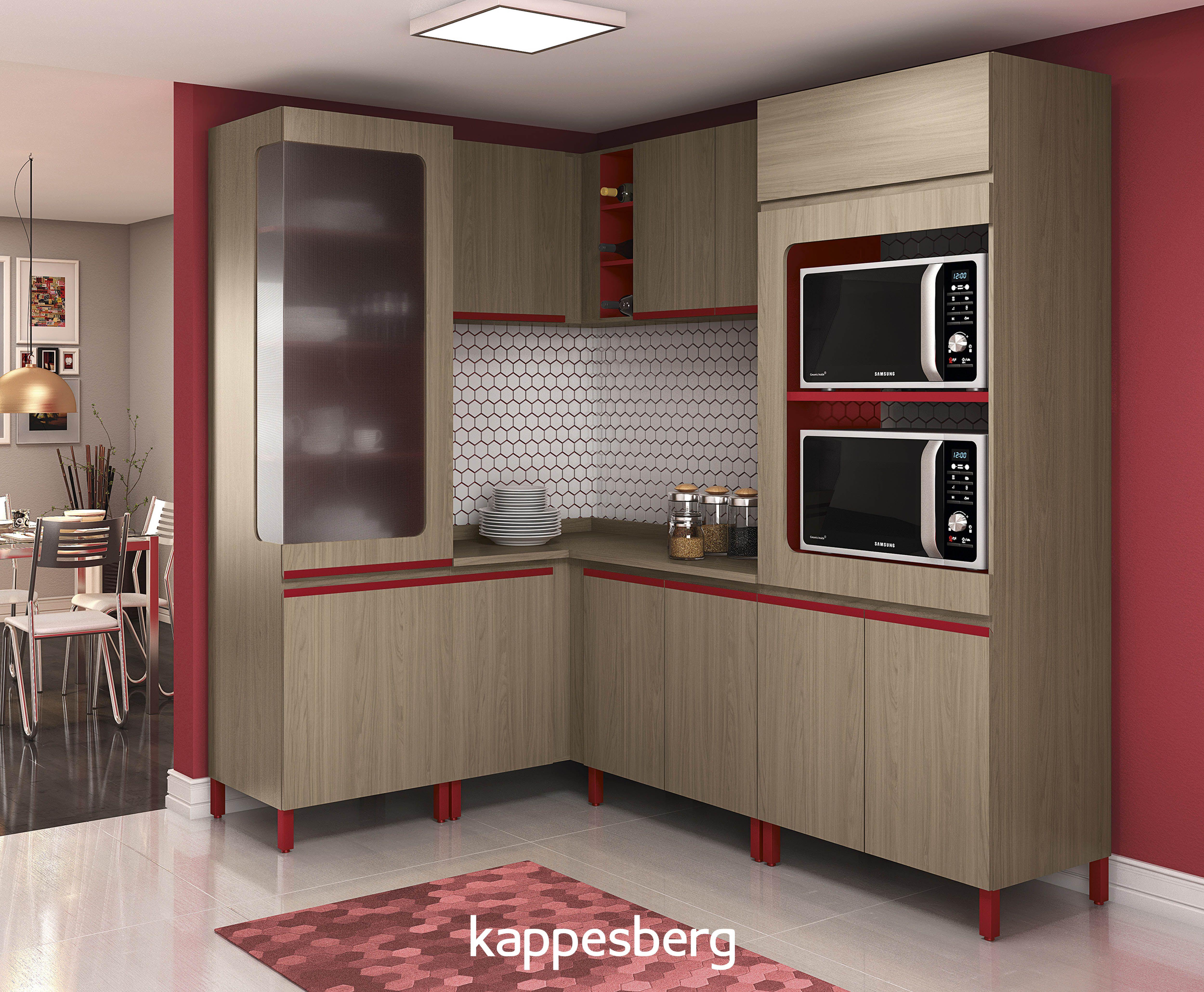 Deixe Sua Cozinha Mais Colorida Com A New Urban Da Kappesberg