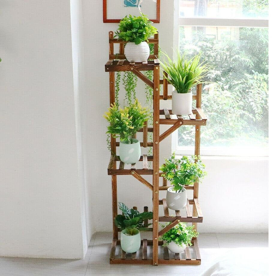Pin By Joni Macneill On Garden In 2021 Plant Stand Indoor Corner Plant Flower Stands