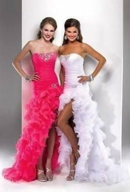 wedding dresses in pink and white - Google Search