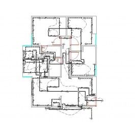 House Plan electrical schematic dwg Electrical CAD blocks CAD