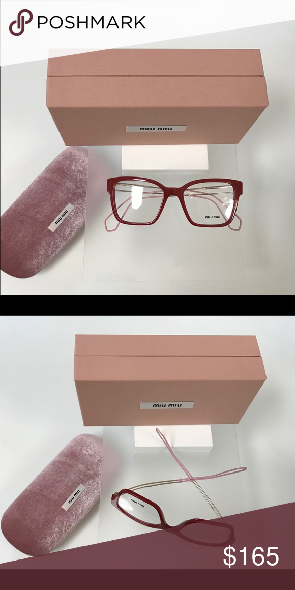 46f4784dfb65 Miu-Miu Original Frame 100% authentic Original frame with case and  certificate Accessories Glasses