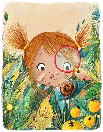 Illustrations by Lucy Fleming | Cute illustration ...