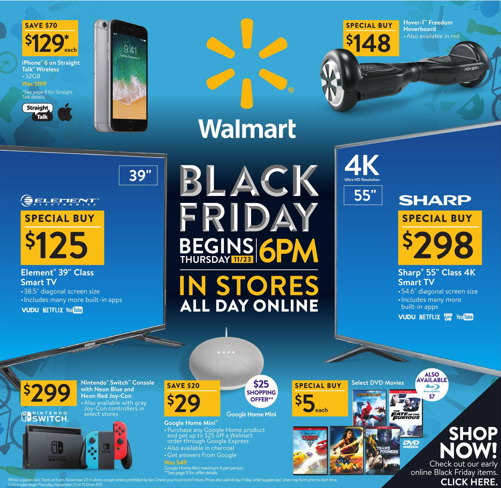 Walmart Black Friday Ad 2017 Walmart Black Friday Ad Black Friday Ads Black Friday Walmart