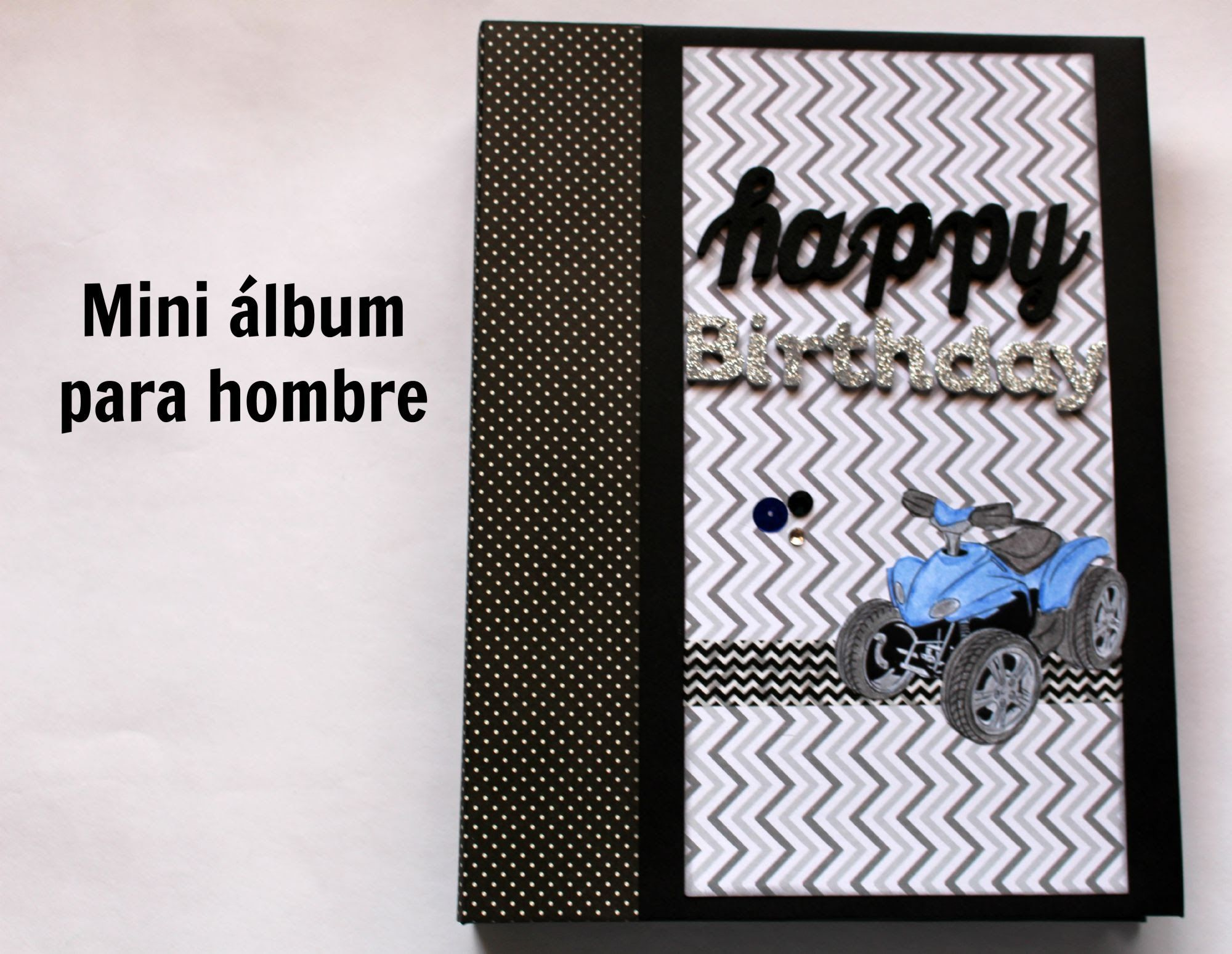 Diy mini album scrapbook for boyfriend 2014 youtube - Mini Lbum Scrapbook Para Hombre Creaciones Izzy