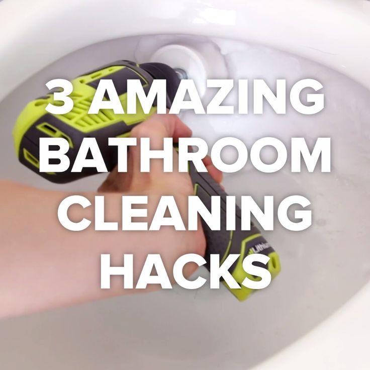 DIY Life Hacks  Crafts  3 Best Bathroom Cleaning Tricks