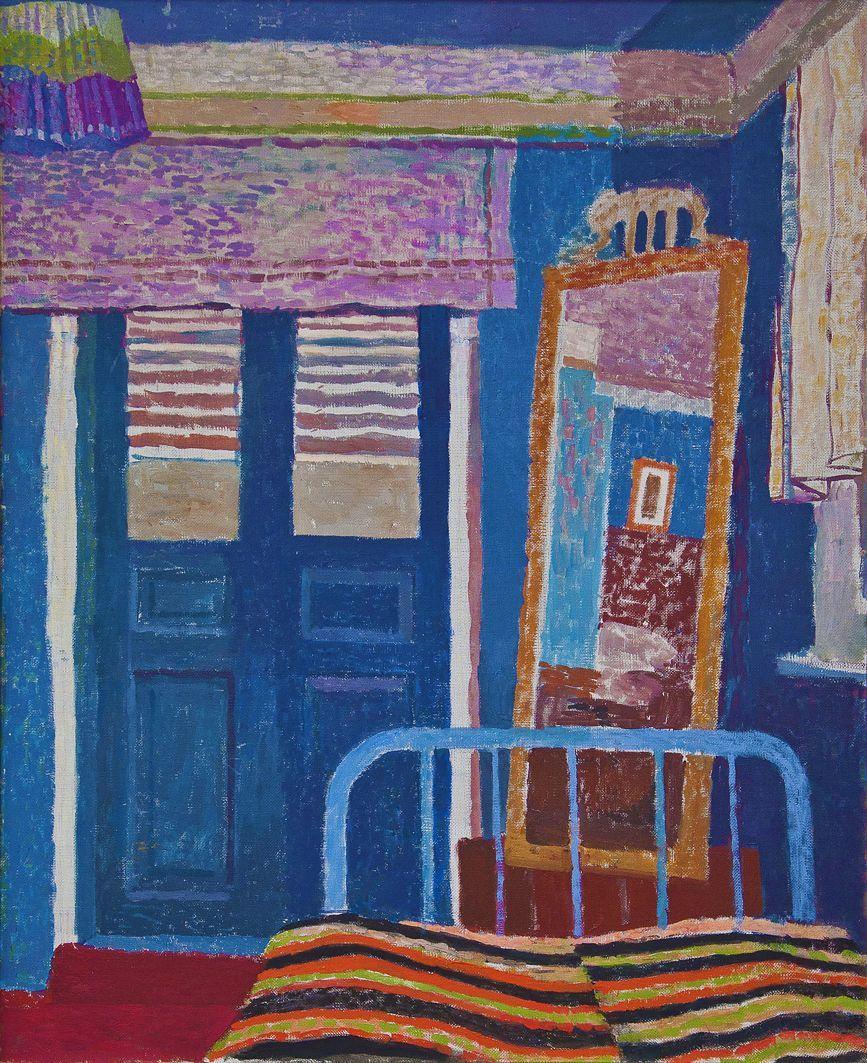 Інтер'єр із дзеркалом, 1960. Вітольд Манастирський. Україна