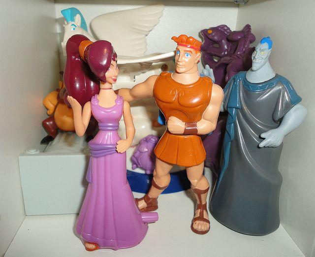 Toys For Hercules : Vintage disney s hercules mcdonalds happy meal set