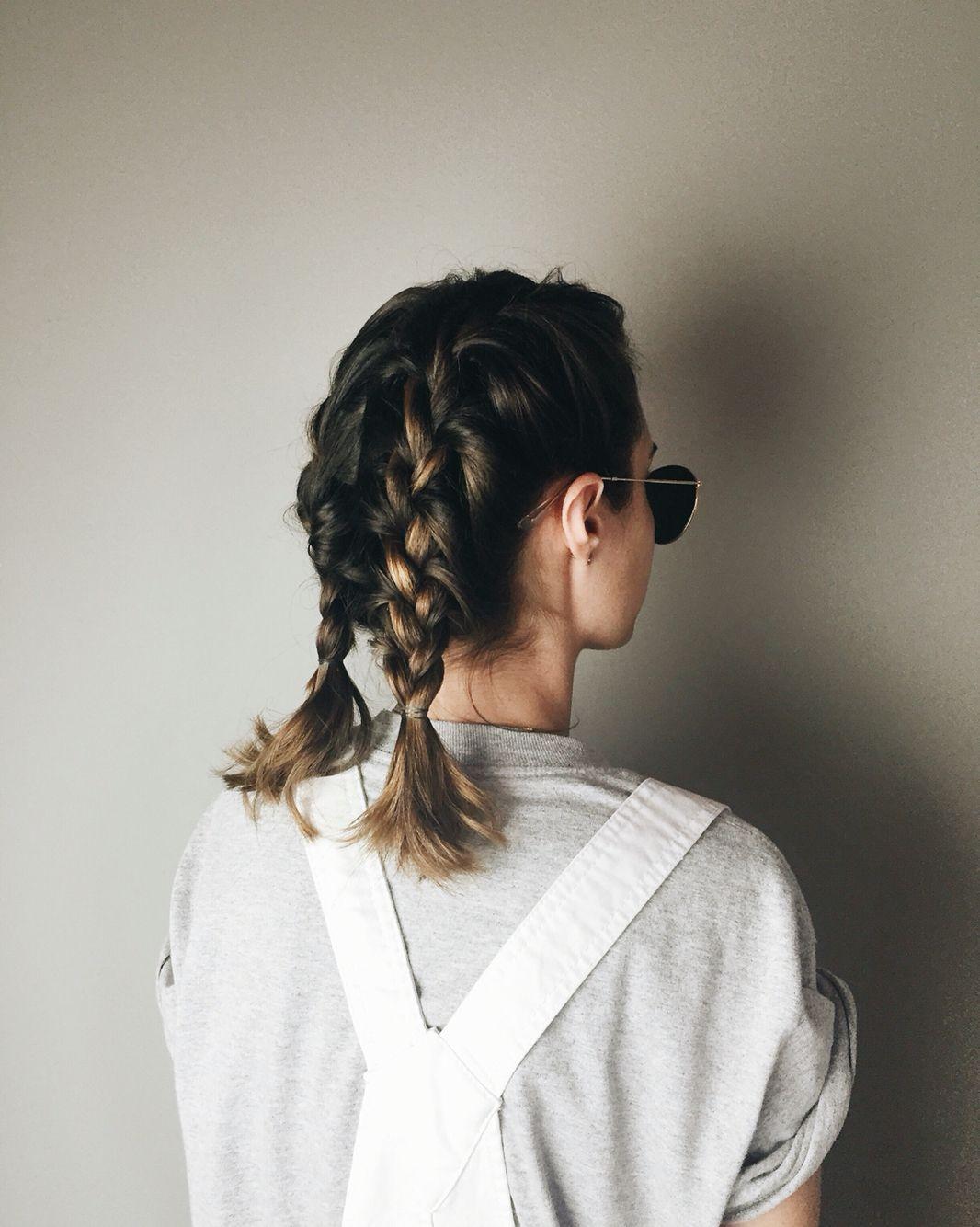 Pinterest Tobieornottobie Braids For Medium Length Hair Hair Styles Braids For Short Hair