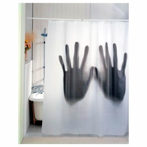 Creepy Shower Curtain Seen On DesignFetish