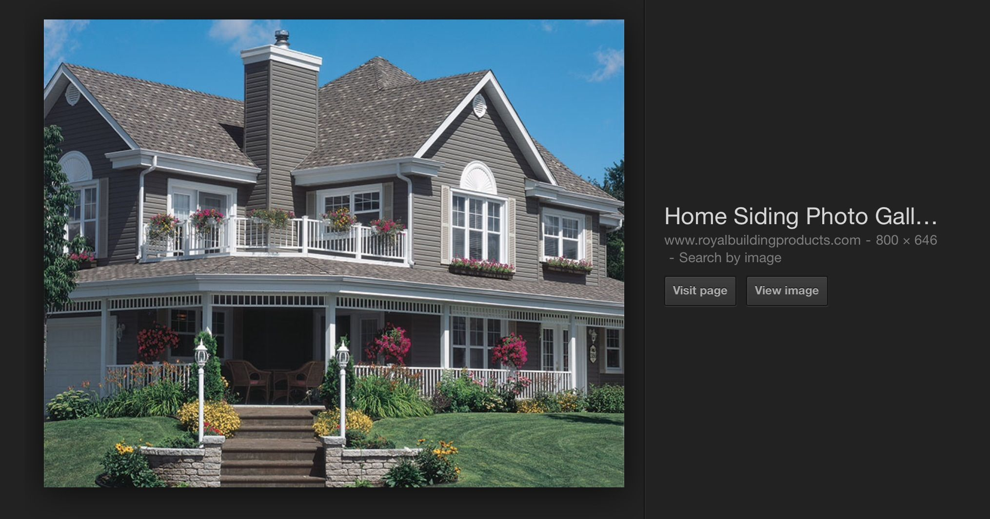 I Think This Is The Siding Color We Chose Harvard