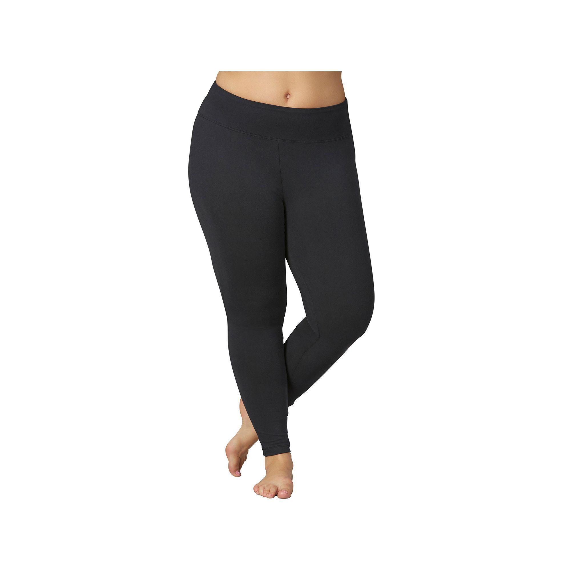 43e334443e9 Plus Size Marika Sanded Dry Wik Flat Waist Yoga Leggings