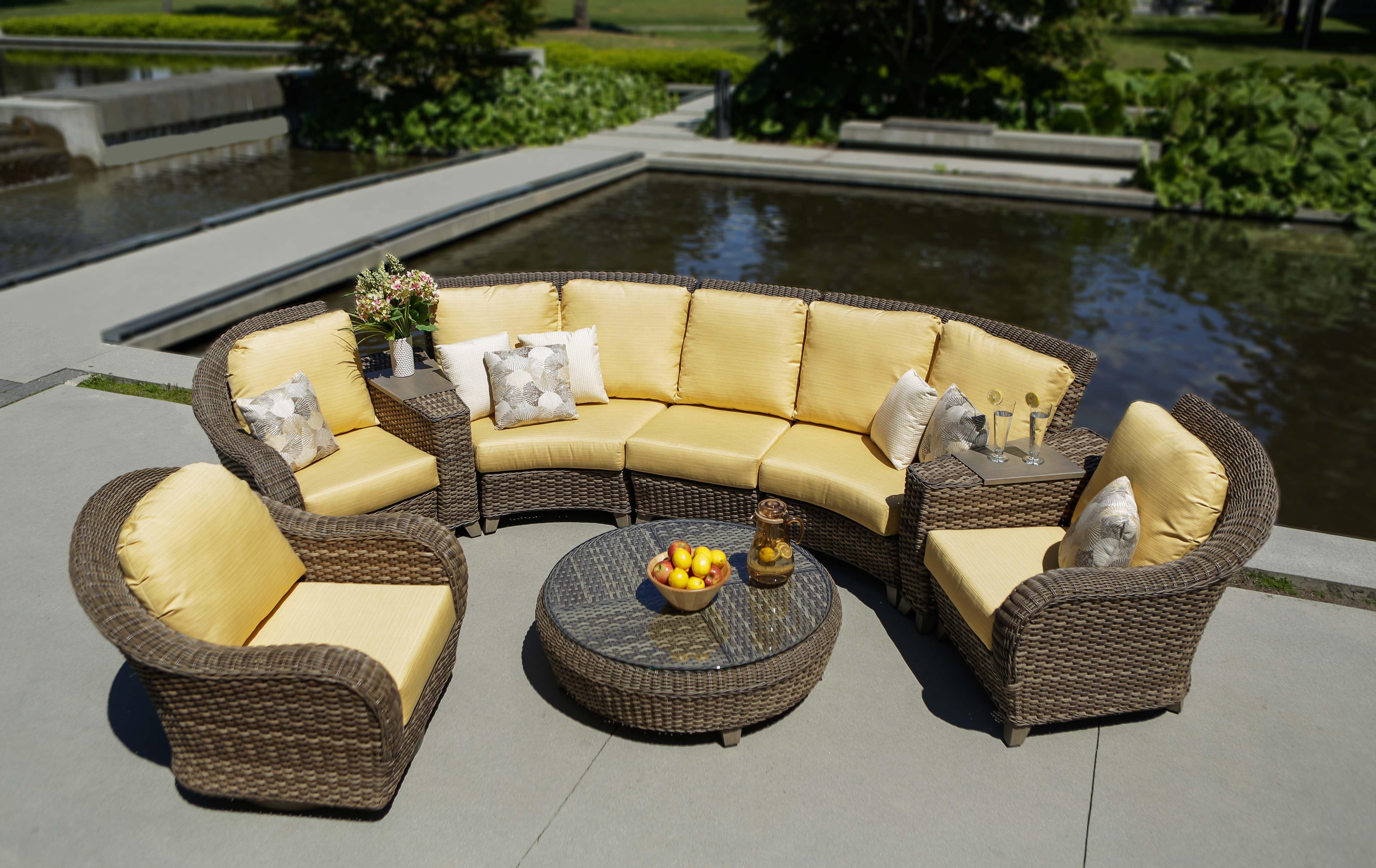 Hillsboro Sectional Www Ratana Com Outdoor Furniture