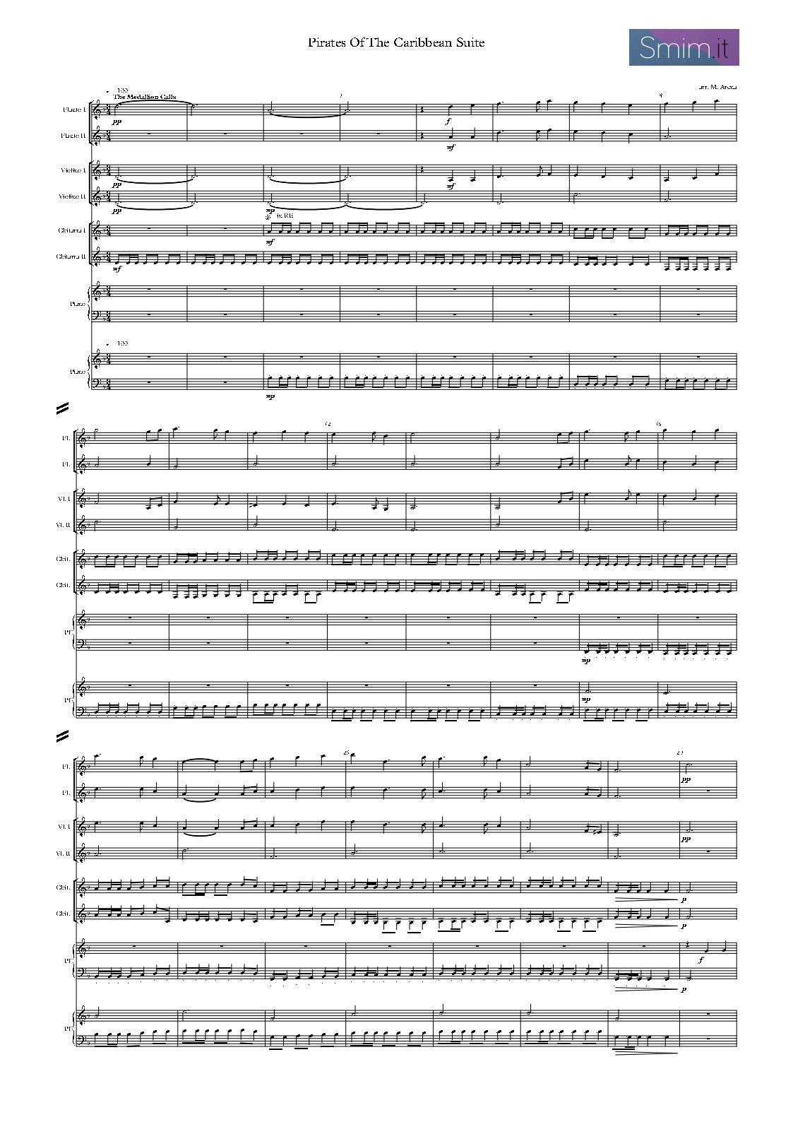 partiture per orchestra