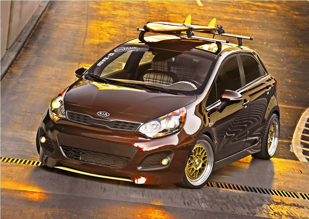 Optima Custom Kia Rio Kia Retro Surf