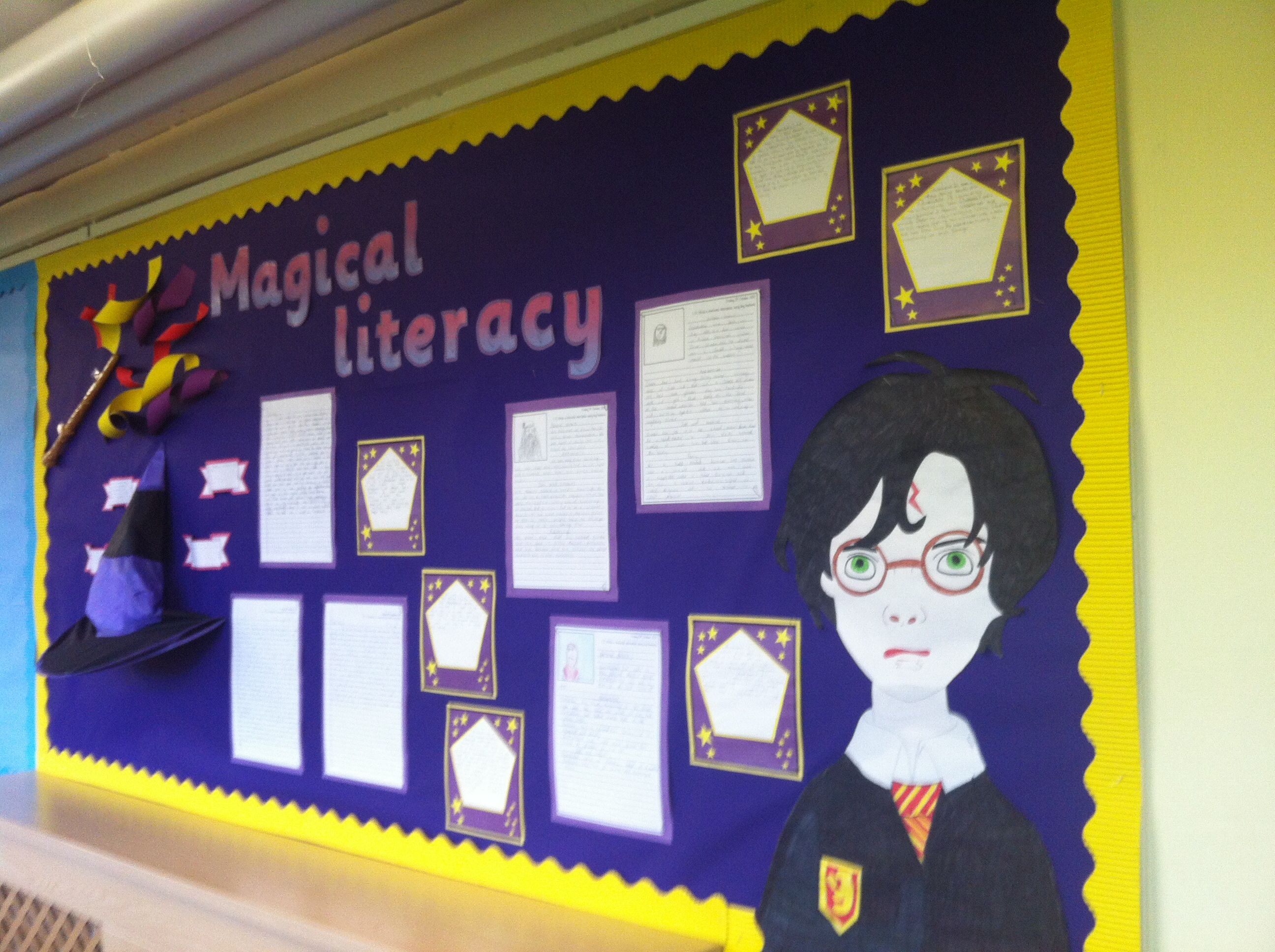 Harry Potter Display Harry Potter Literacy School Does This Count As Ce